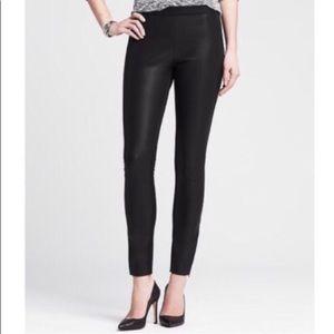 Sloan Faux Leather Front Legging